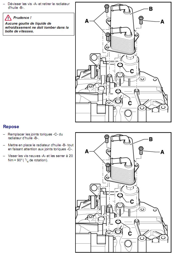 Description et Réparation - Boite DSG 02E  Dsg3010