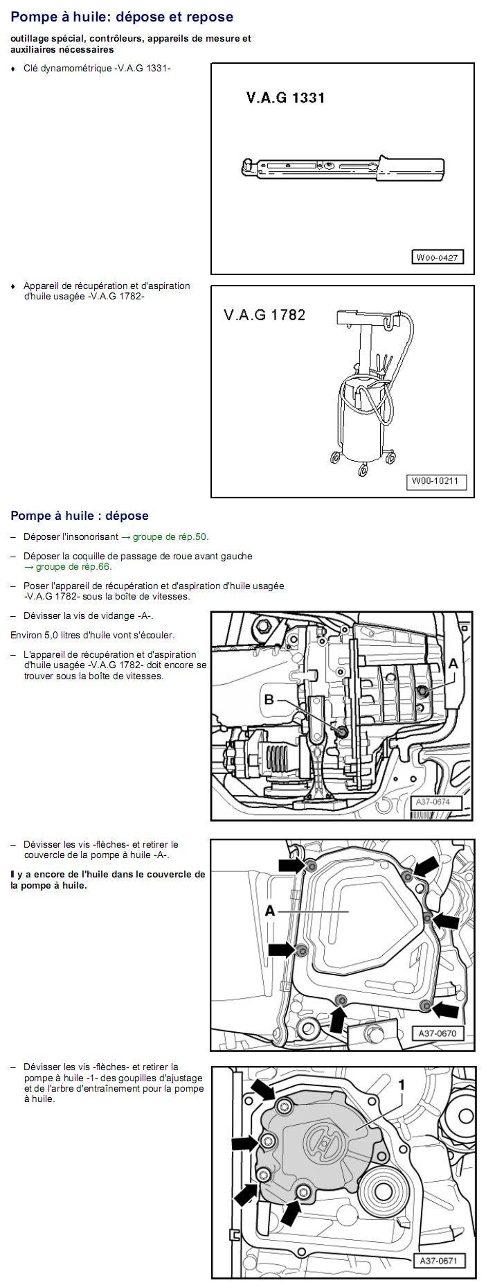 Description et Réparation - Boite DSG 02E  Dsg3210