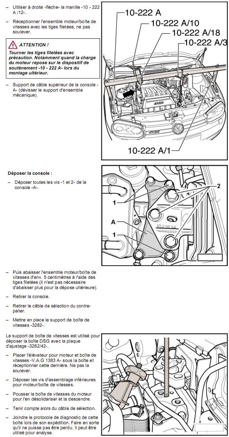 Description et Réparation - Boite DSG 02E  Dsg3910