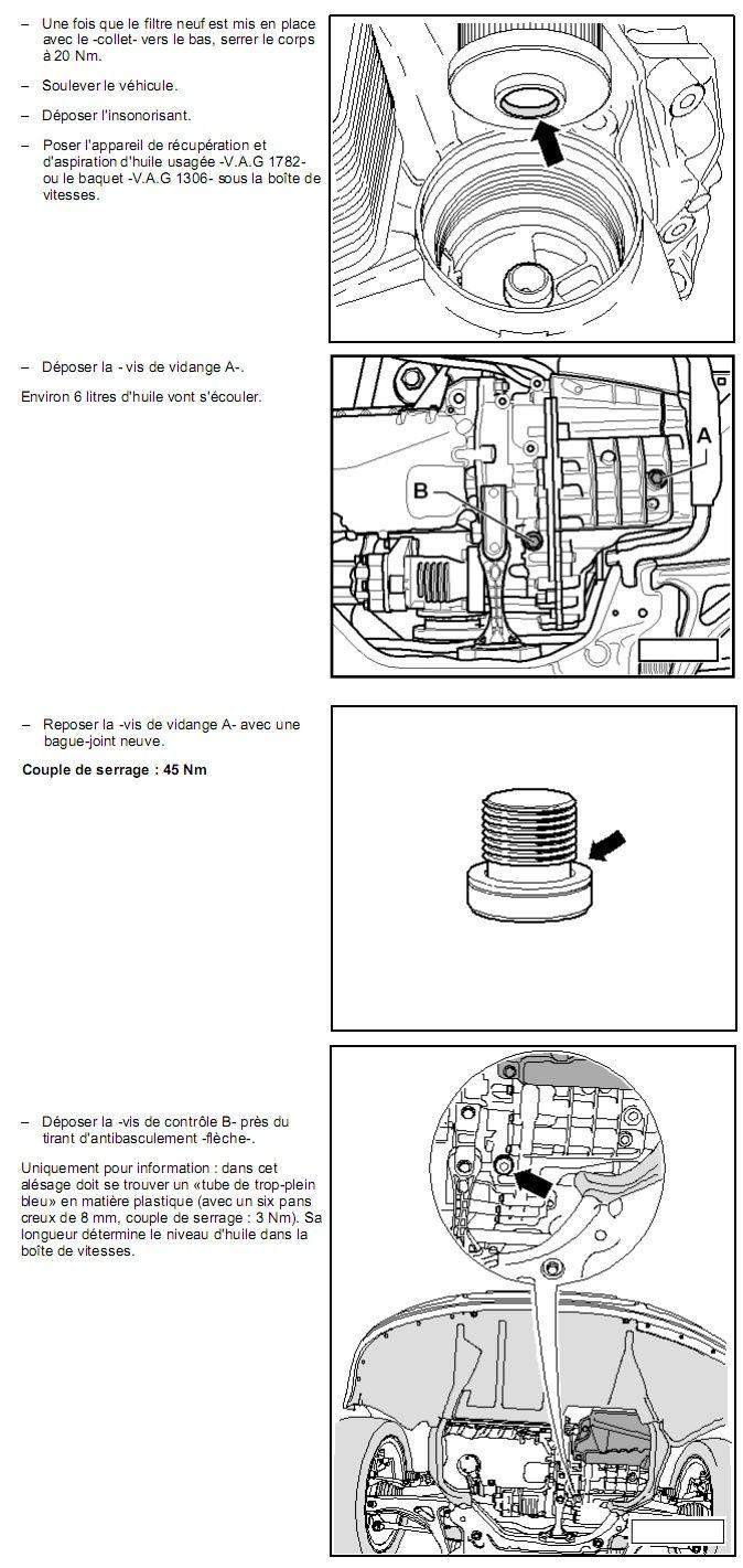 Description et Réparation - Boite DSG 02E  Dsg4310