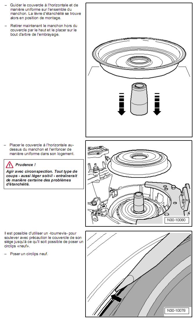 Description et Réparation - Boite DSG 02E  Dsg610