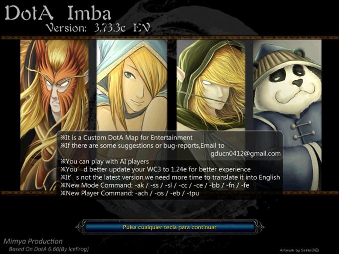 Descargar DotA IMBA 3.73.3c Imba10