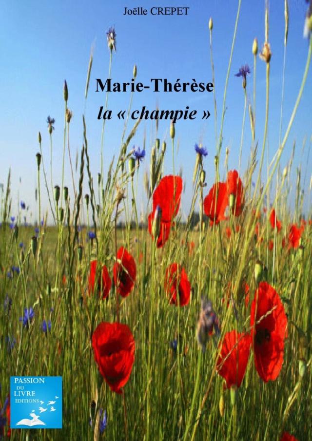 """[Crépet, Joëlle] Marie-Thérèse """"la champie"""" 815hl310"""
