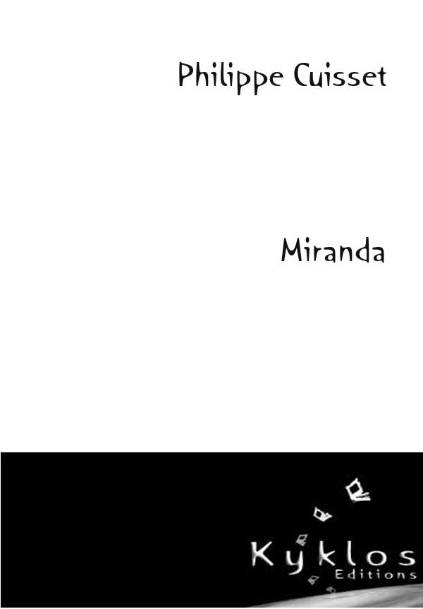 [Editions Kyklos] Miranda de Philippe Cuisset 97829110