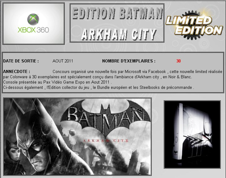 XBOX 360 : Edition BATMAN Arkham City Arkham10