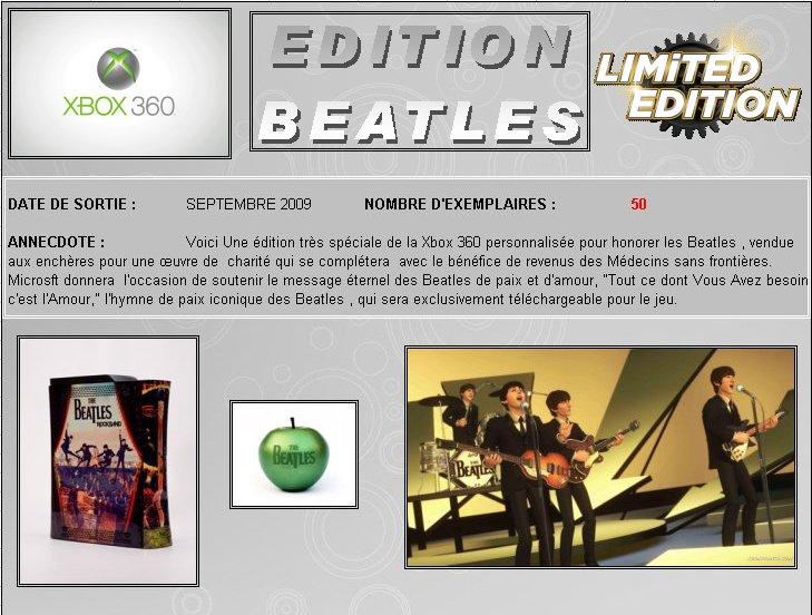 XBOX 360 : Edition BEATLES Rockband Beatle10