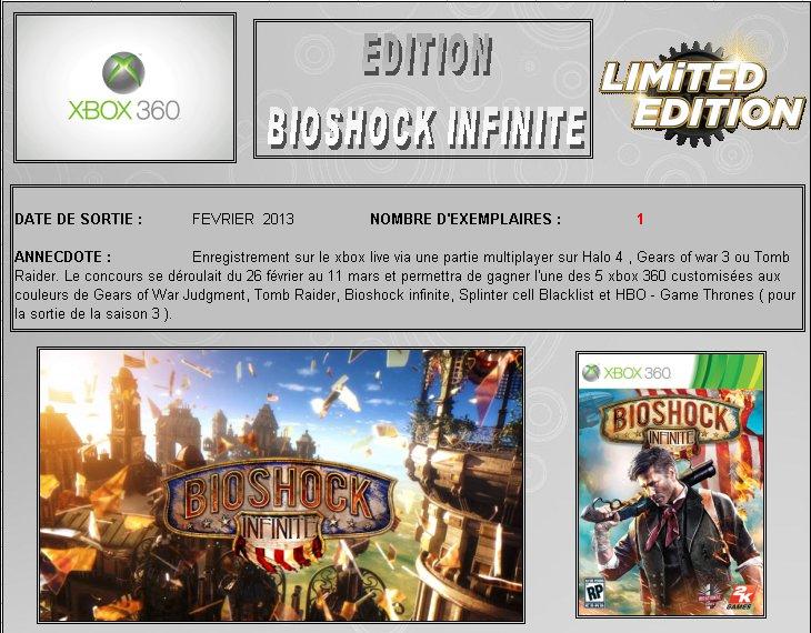 XBOX 360 : Edition BIOSHOCK INFINITE Biosho10