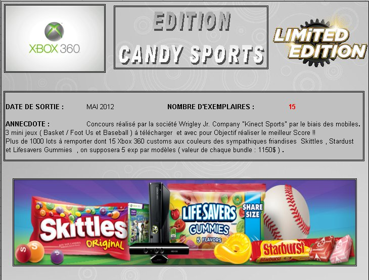XBOX 360 : Edition CANDY SPORTS Candy_10