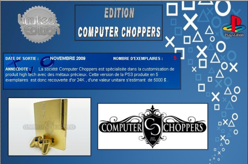 PLAYSTATION 3 : Edition COMPUTER CHOPPERS Comput10