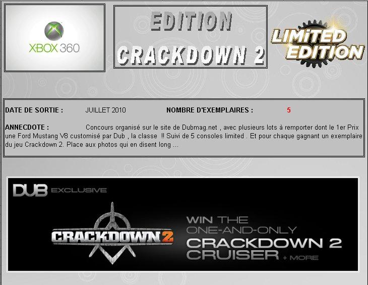 XBOX 360 : Edition CRACKDOWN 2 Crackd10