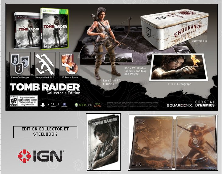 XBOX 360 : Edition TOMB RAIDER Croft_13