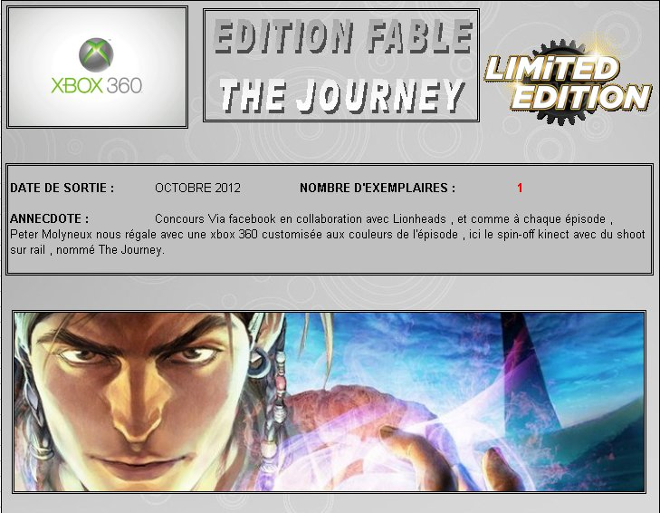 XBOX 360 : Edition FABLE The Journey Fable_10