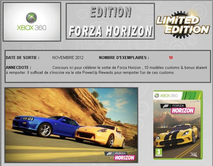 XBOX 360 : Edition FORZA HORIZON Forza_10