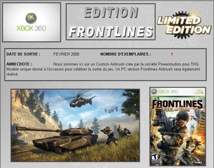 XBOX 360 : Edition  FRONTLINES Frontl10