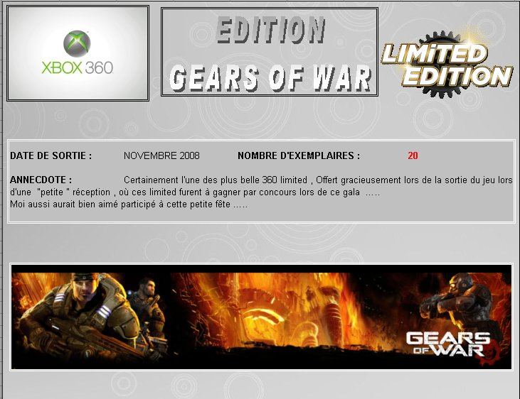 XBOX 360 : Edition GEARS OF WAR Gear_o10