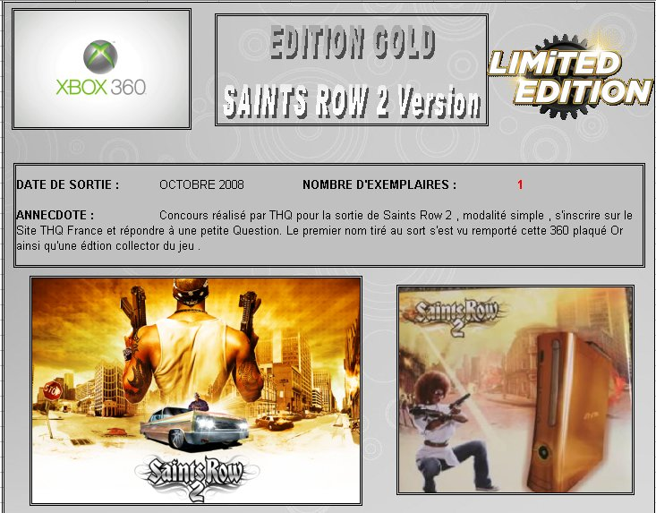 XBOX 360 : Edition GOLD SAINTS ROW 2 Version   Gold_s10