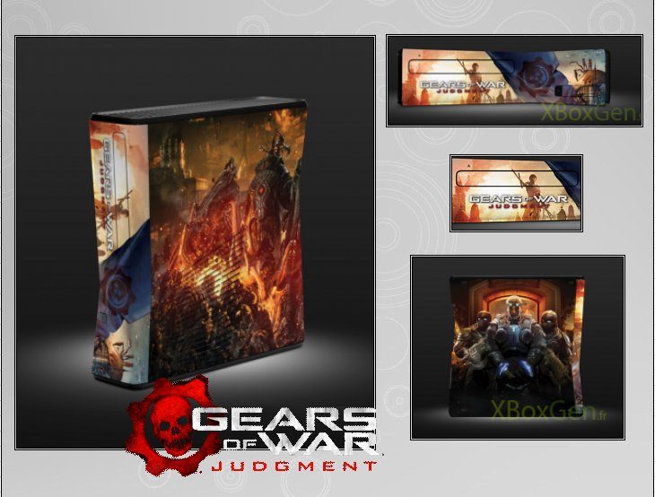 XBOX 360 : Edition GEARS OF WAR JUDGMENT Gow_ju11