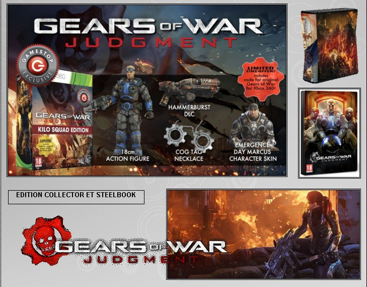 XBOX 360 : Edition GEARS OF WAR JUDGMENT Gow_ju14