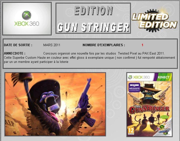 XBOX 360 : Edition GUNSTRINGER Gunstr10