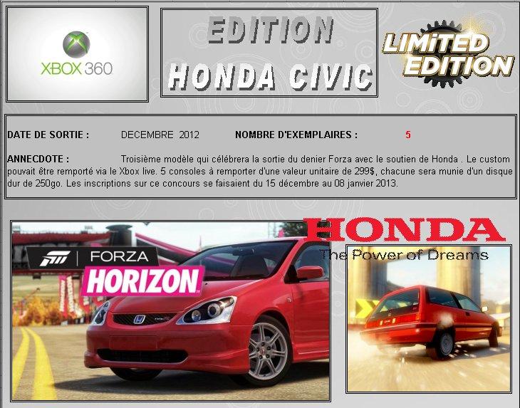XBOX 360 : Edition HONDA CIVIC  Honda_10