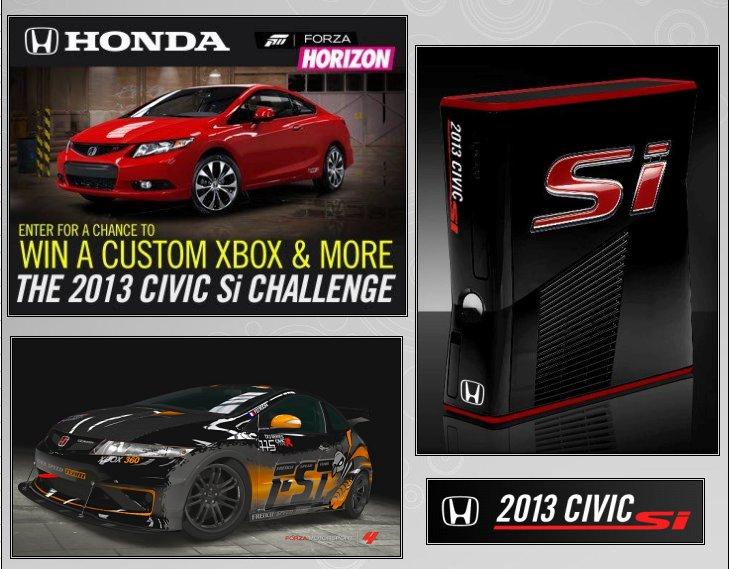 XBOX 360 : Edition HONDA CIVIC  Honda_11