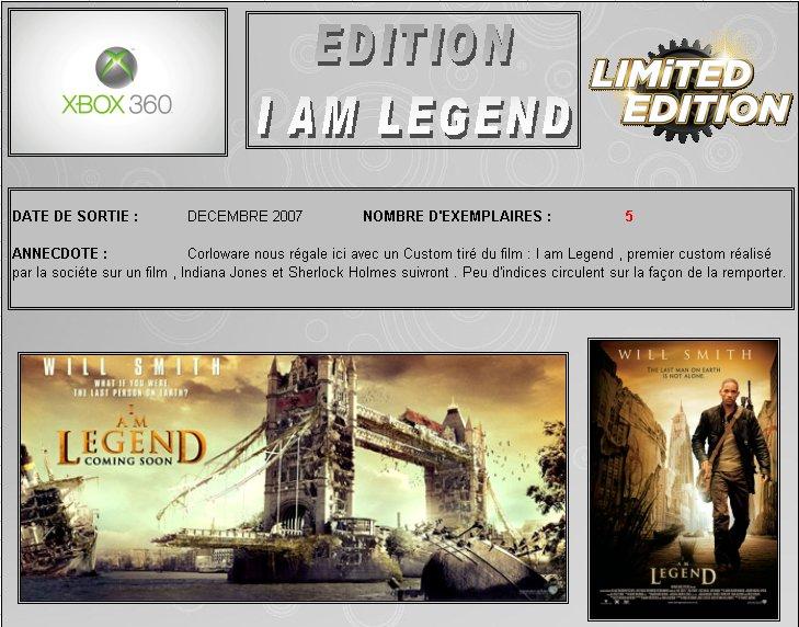 XBOX 360 : Edition I AM LEGEND Iam_le10