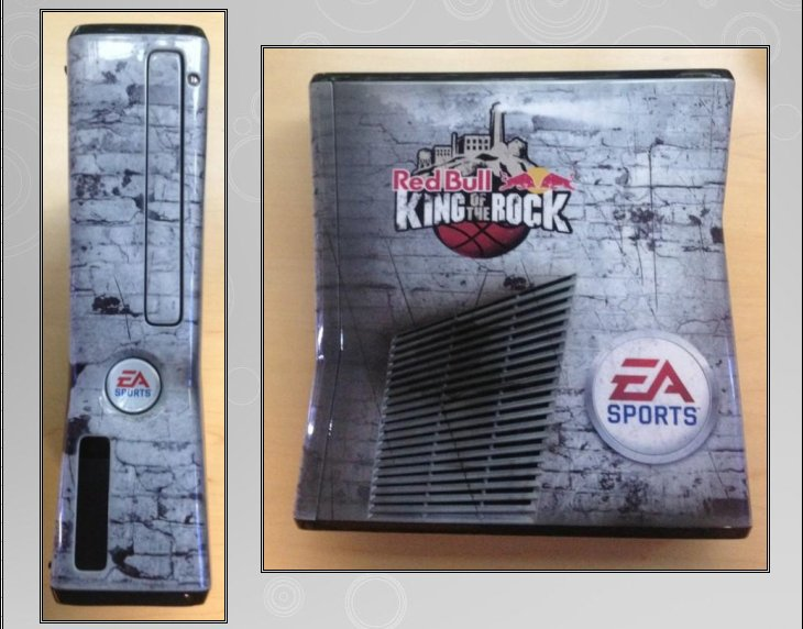 XBOX 360 : Edition KING OF THE ROCK - RED BULL King_o12