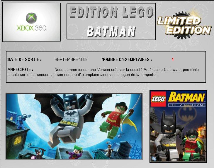 XBOX 360 : Edition LEGO Batman Lego_b10