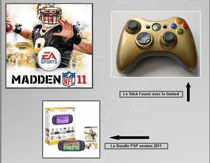 XBOX 360 : Edition MADDEN 11 Madden12