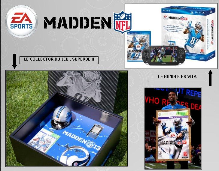 XBOX 360 : Edition MADDEN 13   Madden17