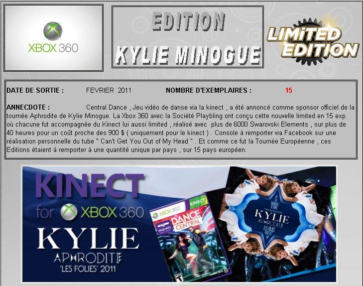 XBOX 360 : Edition KYLIE MINOGUE Minogu10