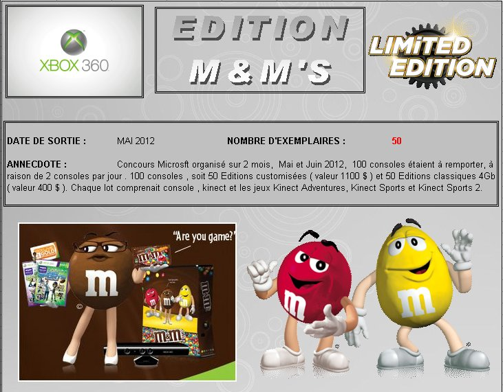 XBOX 360 : Edition M&M'S Mms_0110