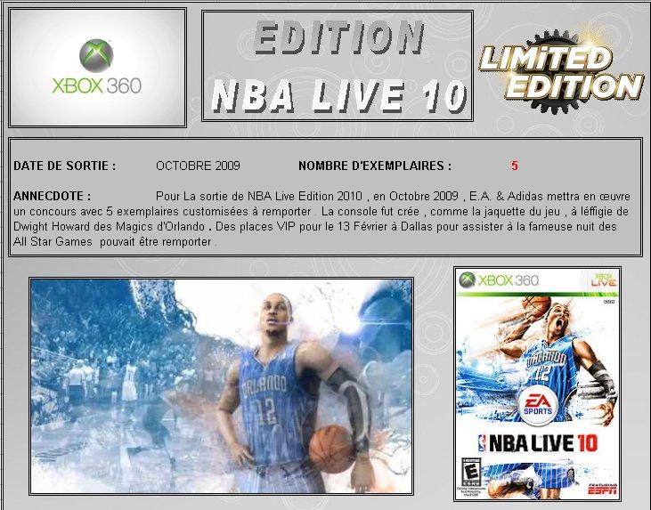XBOX 360 : Edition NBA LIVE 10 Nba0110