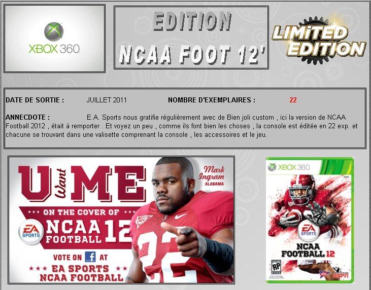 XBOX 360 : Edition NCAA FOOTBALL 12 Ncaa1210