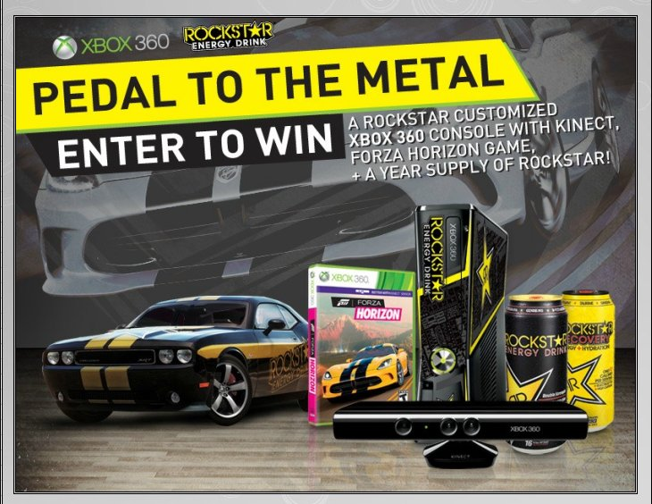 XBOX 360 : Edition ROCKSTAR ENERGY DRINK Rockst11