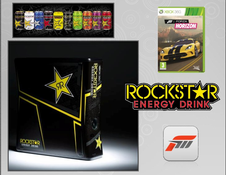 XBOX 360 : Edition ROCKSTAR ENERGY DRINK Rockst12