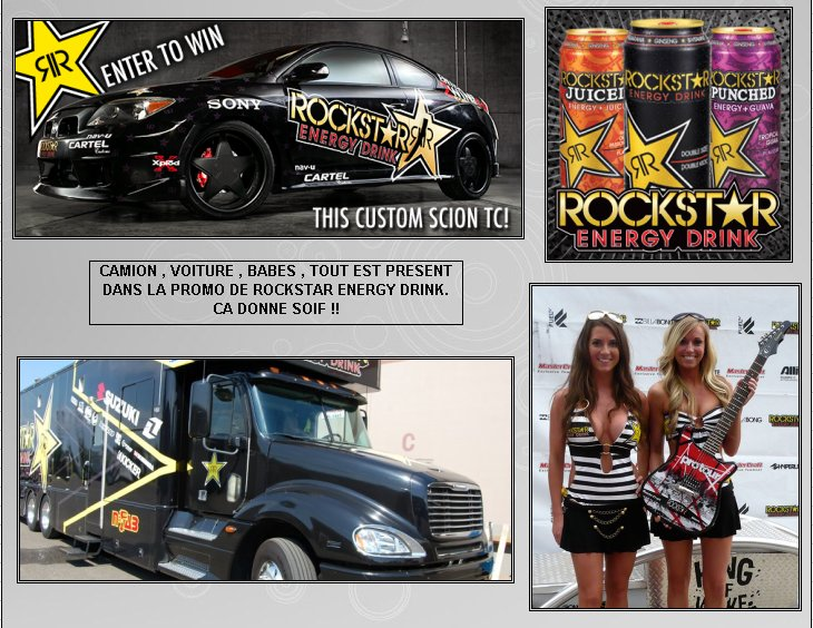 XBOX 360 : Edition ROCKSTAR ENERGY DRINK Rockst13