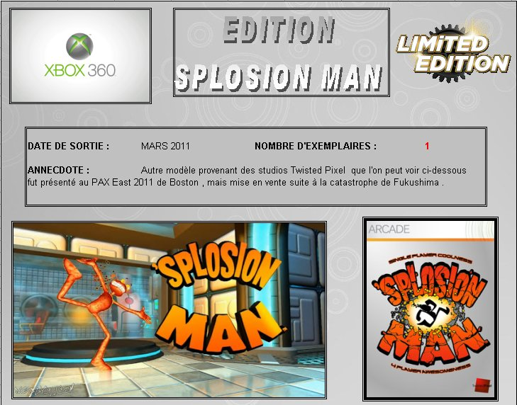 XBOX 360 : Edition SPLOSION MAN    Splosi11
