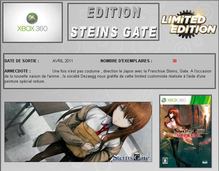 XBOX 360 : Edition STEINS GATE Steins10