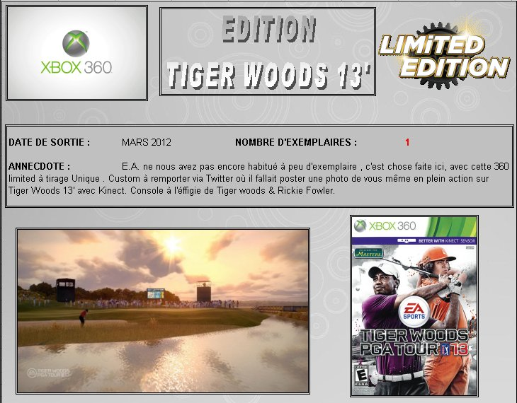 XBOX 360 : Edition TIGER WOODS 13' Tiger_10