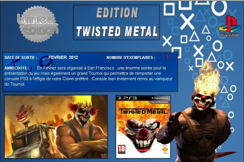 PLAYSTATION 3 : Edition TWISTED METAL Twiste10
