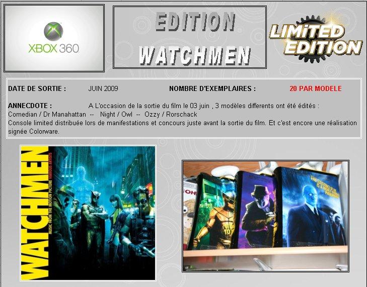 XBOX 360 : Edition WATCHMEN Watchm10