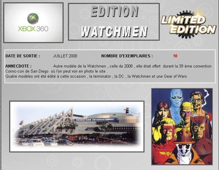 XBOX 360 : Edition WATCHMEN Watchm13
