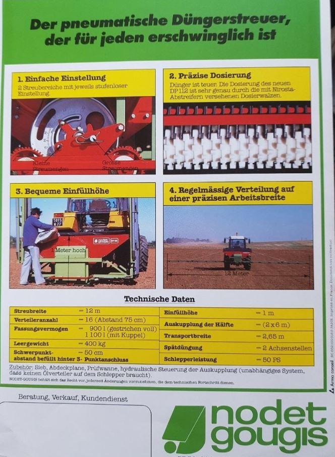 Distributeur Pneumatique Nodet DP112 Captur10