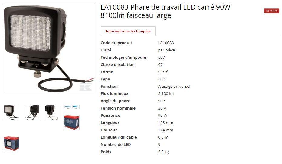 Problème Phare à LED Led111
