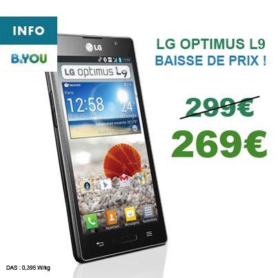 B&YOU: Baisse du prix sur le smartphone LG L9 62349_10