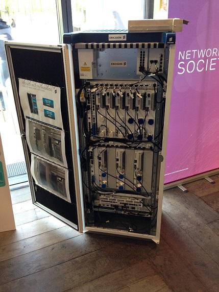 """""""Liberez la 4G"""" Le 1er réseau national 4G chez Bouygues Telecom. Baie11"""