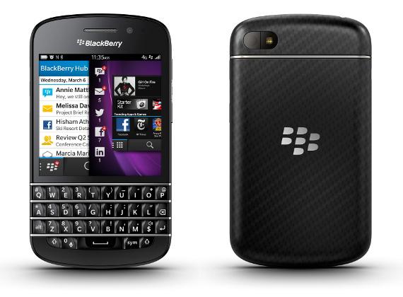 Q10 de BlackBerry sera disponible fin mai chez Bouygues Telecom Blackb10