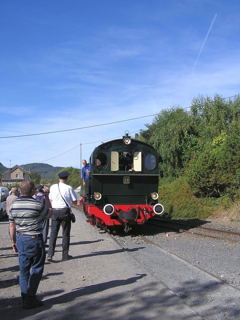Mit dem Vulkan-Express hoch in die Eifel - die Brohltalbahn  1011
