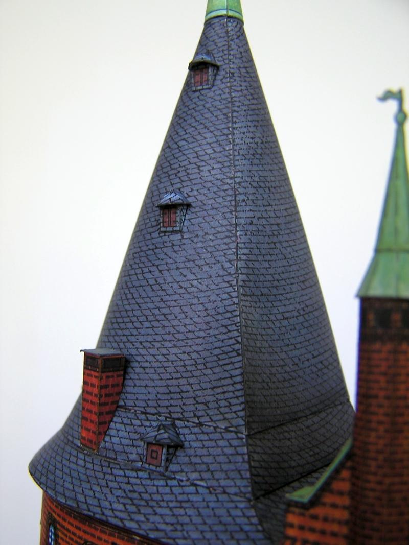 Holstentor Lübeck, 1:160, Schreiber-Bogen 1020